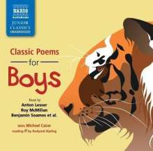 Classic Poems for Boys, CD