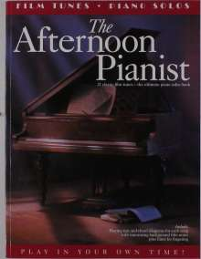 Afternoon Pianist Film Tunes Piano Solo, Noten