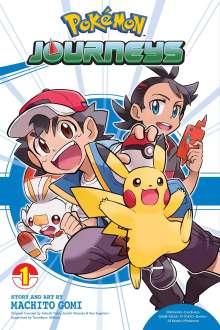 Machito Gomi: Pokemon Journeys, Vol. 1, Buch