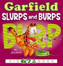 Jim Davis: Garfield Slurps and Burps, Buch
