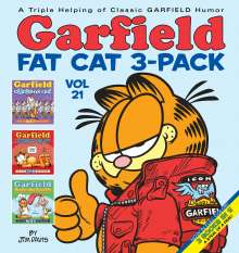 Jim Davis: Garfield Fat Cat 3-Pack #21, Buch