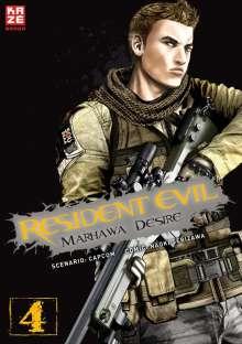 Capcom: Resident Evil - Marhawa Desire. Bd.4, Buch