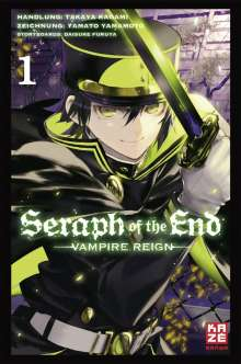 Takaya Kagami: Seraph of the End 01, Buch