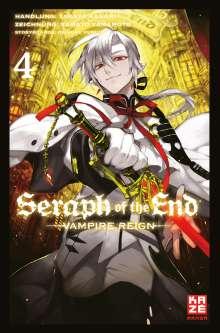 Takaya Kagami: Seraph of the End 04, Buch