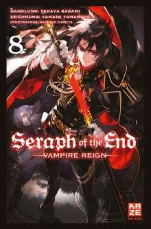 Takaya Kagami: Seraph of the End 08, Buch