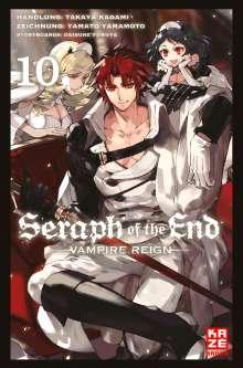 Takaya Kagami: Seraph of the End 10, Buch
