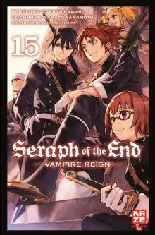 Takaya Kagami: Seraph of the End 15, Buch
