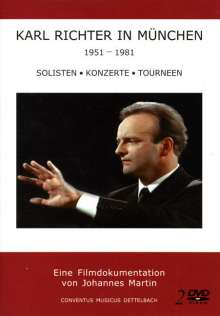 Karl Richter in München 1951-1981: Soliten-Konzerte-Tourneen, 2 DVDs