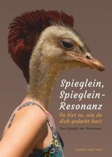 Joachim Josef Wolf: Spieglein, Spieglein - Resonanz, Buch