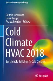 Cold Climate HVAC 2018, Buch