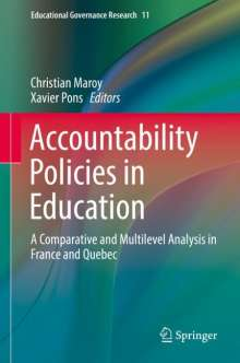 Accountability Policies in Education, Buch