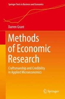 Darren Grant: Methods of Economic Research, Buch