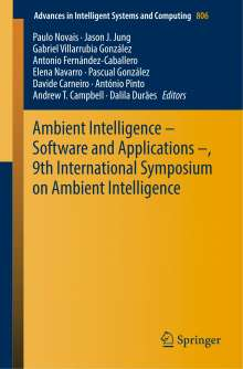 Ambient Intelligence - Software and Applications -, 9th International Symposium on Ambient Intelligence, Buch