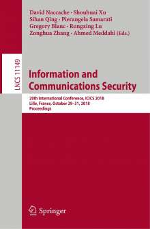 Information and Communications Security, Buch