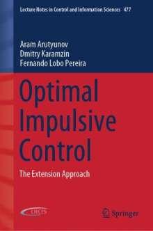 Aram Arutyunov: Optimal Impulsive Control, Buch