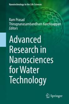 Advanced Research in Nanosciences for Water Technology, Buch
