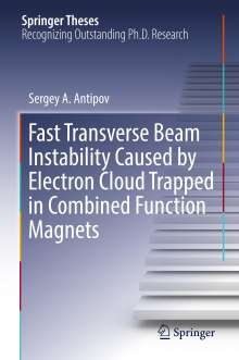 Sergey A. Antipov: Fast Transverse Beam Instability Caused by Electron Cloud Trapped in Combined Function Magnets, Buch