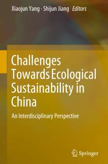 Challenges Towards Ecological Sustainability in China, Buch
