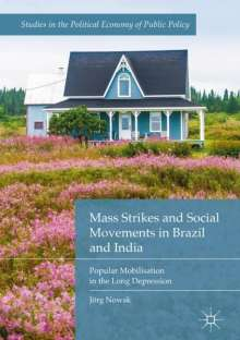 Jörg Nowak: Mass Strikes and Social Movements in Brazil and India, Buch
