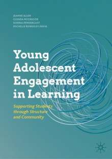 Jeanne Allen: Young Adolescent Engagement in Learning, Buch