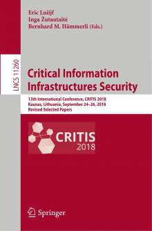 Critical Information Infrastructures Security, Buch