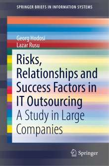 Georg Hodosi: Risks, Relationships and Success Factors in IT Outsourcing, Buch