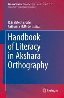 Handbook of Literacy in Akshara Orthography, Buch