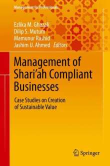 Management of Shari'ah Compliant Businesses, Buch