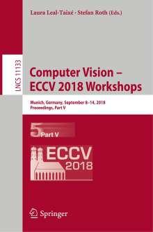 Computer Vision - ECCV 2018 Workshops, Buch