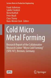 Cold Micro Metal Forming, Buch