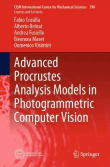 Fabio Crosilla: Advanced Procrustes Analysis Models in Photogrammetric Computer Vision, Buch