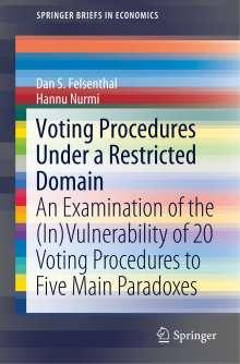 Dan S. Felsenthal: Voting Procedures Under a Restricted Domain, Buch