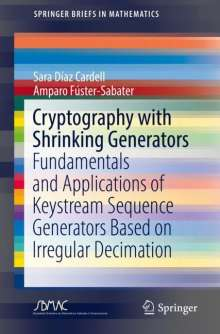 Sara Díaz Cardell: Cryptography with Shrinking Generators, Buch