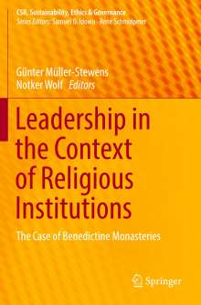 Leadership in the Context of Religious Institutions, Buch