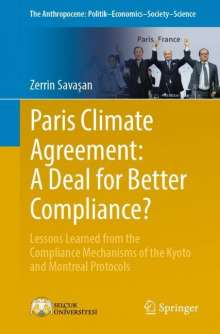 Zerrin Savasan: Paris Climate Agreement: A Deal for Better Compliance?, Buch