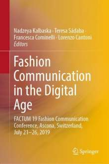 Fashion Communication in the Digital Age, Buch