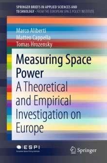 Marco Aliberti: Measuring Space Power, Buch