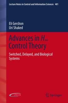 Eli Gershon: Advances in H8 Control Theory, Buch