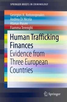 Georgios A. Antonopoulos: Human Trafficking Finances, Buch