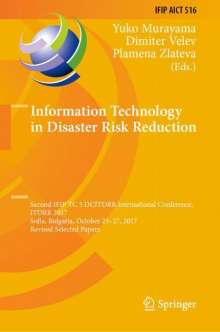 Information Technology in Disaster Risk Reduction, Buch