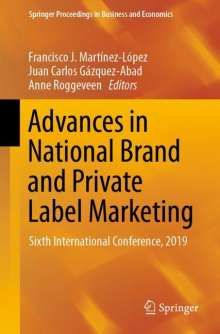 Advances in National Brand and Private Label Marketing, Buch