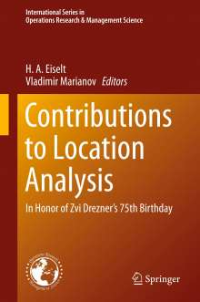 Contributions to Location Analysis, Buch