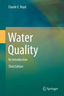 Claude E. Boyd: Water Quality, Buch