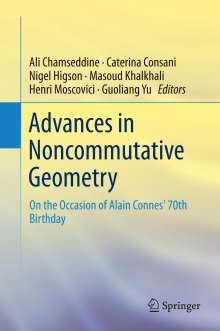 Advances in Noncommutative Geometry, Buch