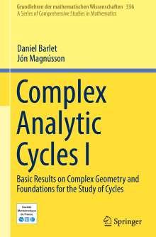 Daniel Barlet: Complex Analytic Cycles I, Buch