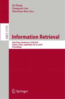 Information Retrieval, Buch