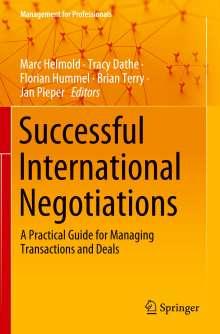Successful International Negotiations, Buch