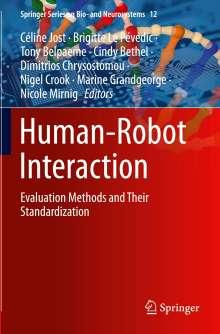 Human-Robot Interaction, Buch