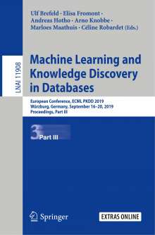 Machine Learning and Knowledge Discovery in Databases, Buch