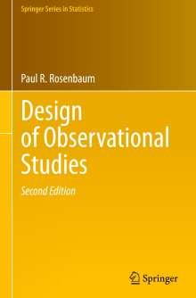 Paul R. Rosenbaum: Design of Observational Studies, Buch